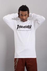 Tee-shirt manches longues homme Thrasher-T-shirt Skate Mag Ls-FW17/18