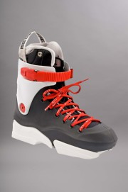 Usd-Boots Throne Black/white/ Red-2012