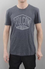 Tee-shirt manches courtes homme Volcom-Bigboi Hth S/s Navy-SPRING16