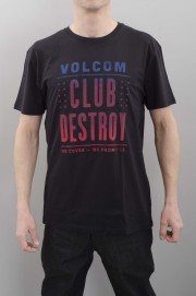 Tee-shirt manches courtes homme Volcom-Club Destroy-SPRING16