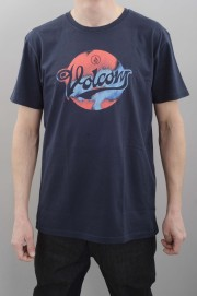 Tee-shirt manches courtes homme Volcom-Electrode Bsc S/s Navy-SPRING16