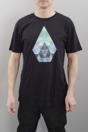 Tee-shirt manches courtes homme Volcom-Prism Bsc S/s Black-SPRING16
