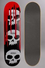 Plateau de skateboard Zero-3 Skull Blood Black R7-2016