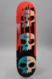 Plateau de skateboard Zero-3 Skulls Blood Blue  Natural-2017