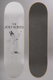 Plateau de skateboard Zoo york-Yorker White 8.3-2016