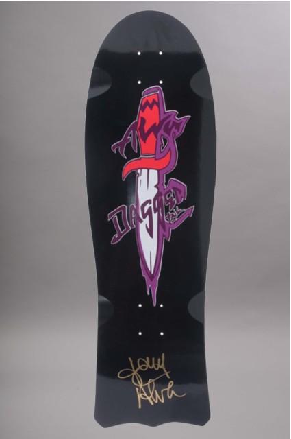 Plateau de skateboard Alva-Daggers Black Signed Edition Limitee-INTP