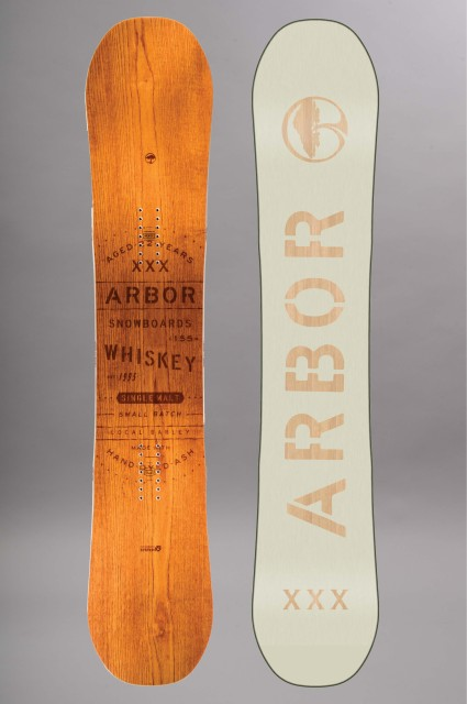 Planche de snowboard homme Arbor-Whiskey-FW17/18