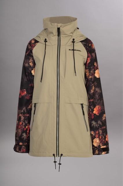 Manteau snowboard femme