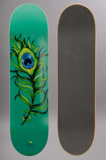 Plateau de skateboard Blaze supply-Blaze Paon Green-INTP