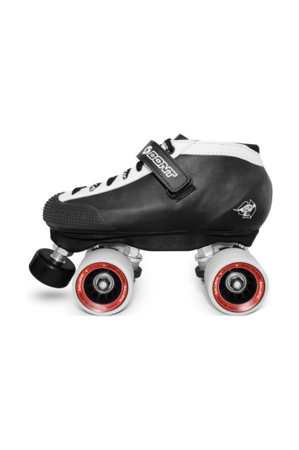 Rollers derby Bont-Hybrid Black/white-2016