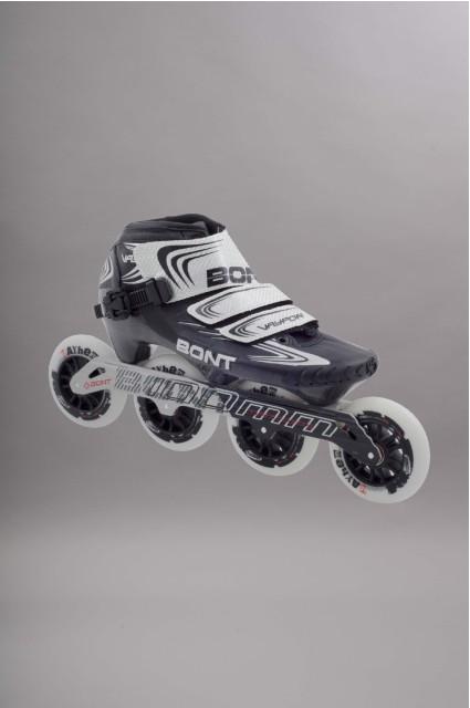 Rollers vitesse Bont-Vaypor Black Zero 100mm-2015