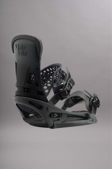 fixation de snowboard homme burton malavita est black fade. Black Bedroom Furniture Sets. Home Design Ideas