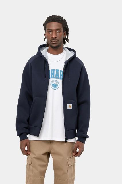 Sweat-shirt zip capuche homme Carhartt wip-Car-lux Hooded-FW17/18