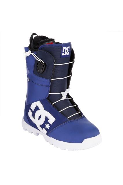 Boots de snowboard homme Dc shoes-Avaris Blue-FW14/15