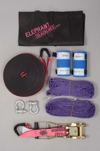 Elephant slacklines-Elephant Freak Flash Line 25 Metres-INTP