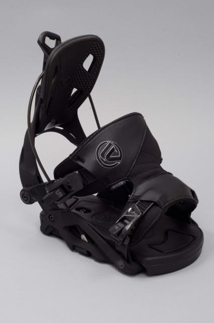 fixation de snowboard homme flow fuse black. Black Bedroom Furniture Sets. Home Design Ideas