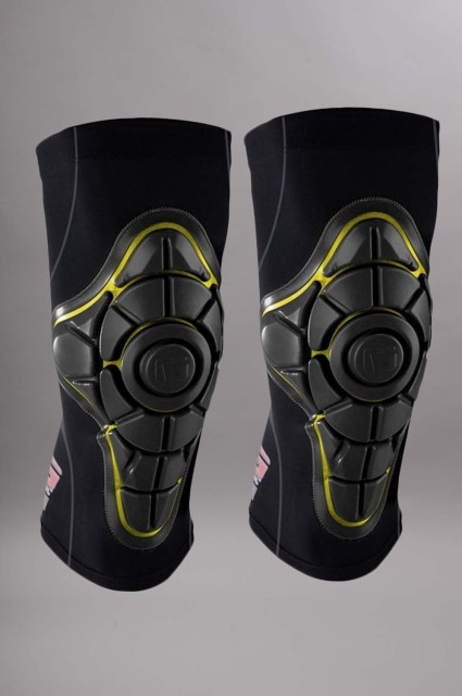 G-form-Pro-x Knee Black/yellow-INTP