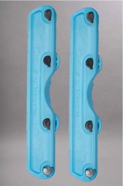 Ground control-Featherlite 2  Turquoise Vendu Par Paire-INTP