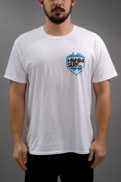 Tee-shirt manches courtes homme Hawaii-Surf-INTP