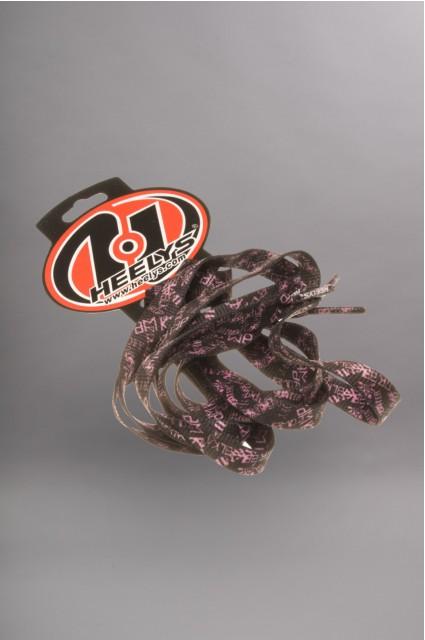 Heelys-Lacets Pink/black-INTP
