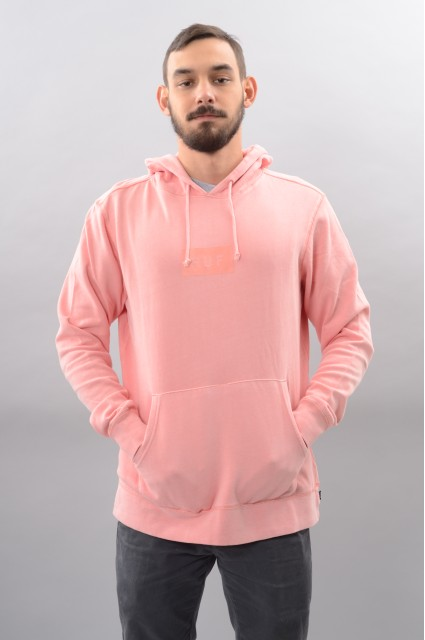 Sweat-shirt à capuche homme Huf-Bar Logo-HO17/18