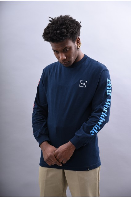 Tee-shirt manches longues homme Huf-Domestic Ls-SPRING18