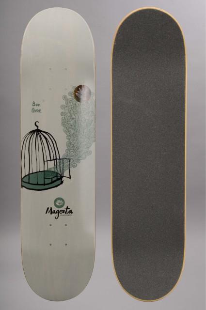 Plateau de skateboard Magenta-Ben Gore-INTP