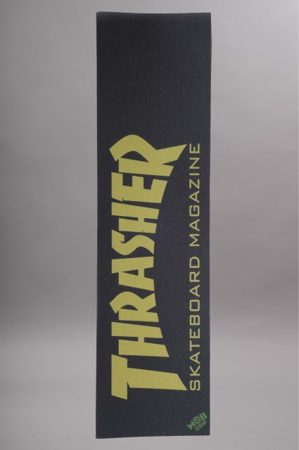Mob-Thrasher Skate Mag Yellow-INTP