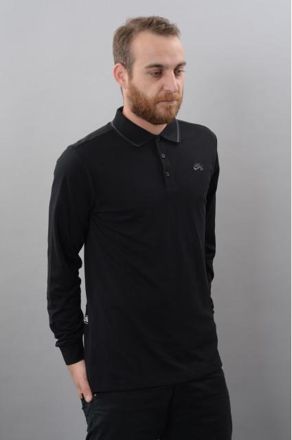 Polo manches longues homme Nike sb-Dry Polo Ls-FW17/18