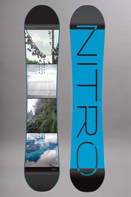 Planche de snowboard homme Nitro-Team Exposure-FW15/16