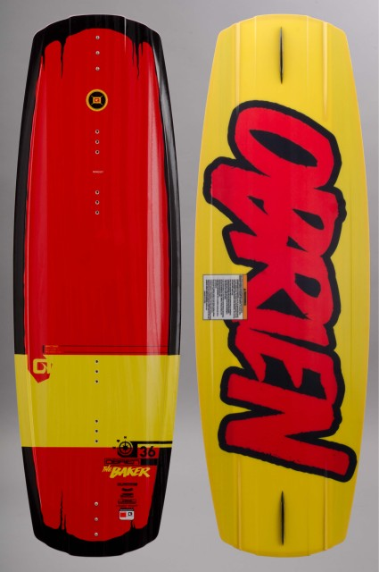 Planche de wakeboard homme O.brien-O brien Baker Limited Edition-SS16