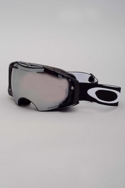 Masque hiver homme Oakley-Airbrake Jet Black Ecran Supplementaire Inclus-FW15/16