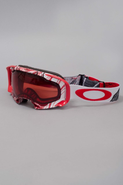 Masque hiver homme Oakley-Splice Topography Red-FW14/15