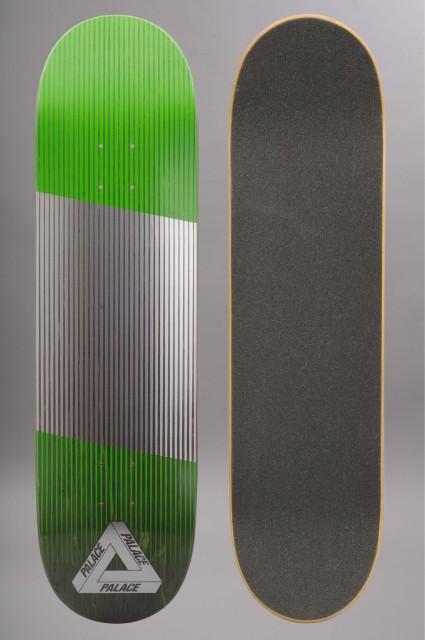 Plateau de skateboard Palace-Linear Green-INTP
