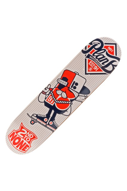 Plateau de skateboard Plan b-123 Klan 7.75-INTP