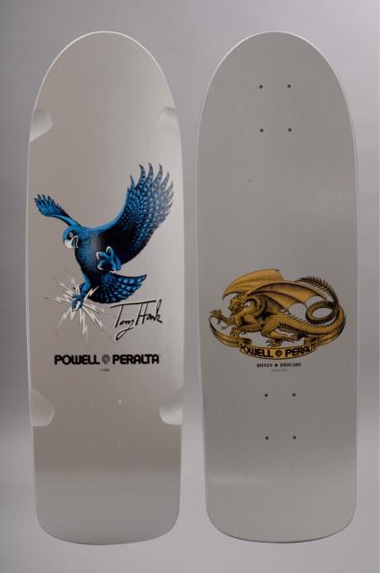 Plateau de skateboard Powell peralta-Hawk Silver  Bones Brigade-INTP