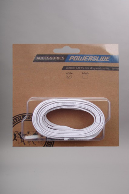 Powerslide-Lacets Huiles White-INTP