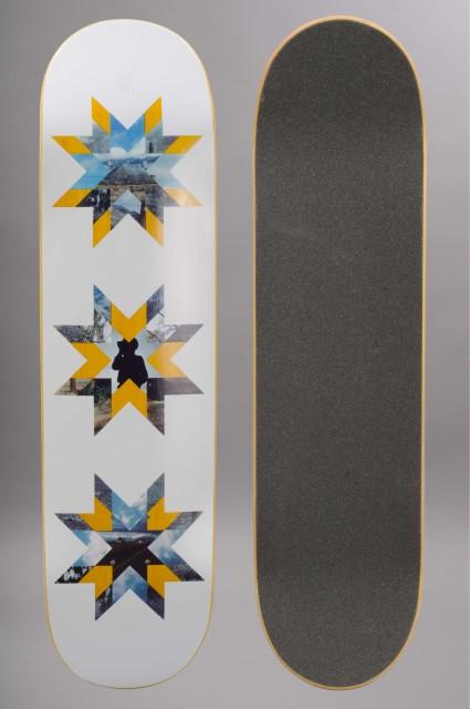 Plateau de skateboard Quasi-Crockett Quilt-INTP