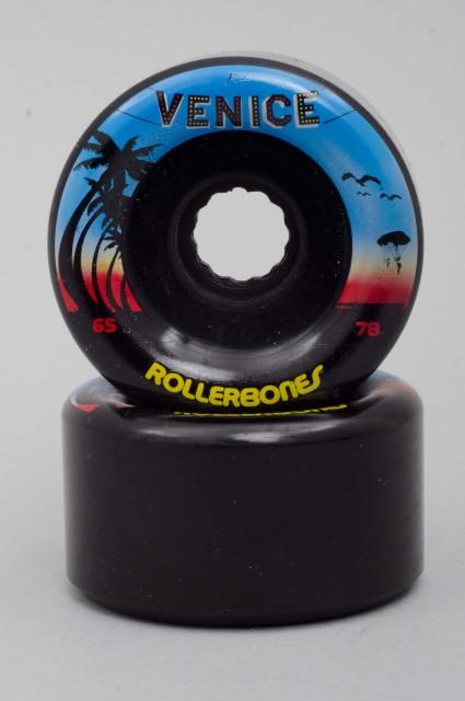 Rollerbones-Venice Black 65mm/78a-2016