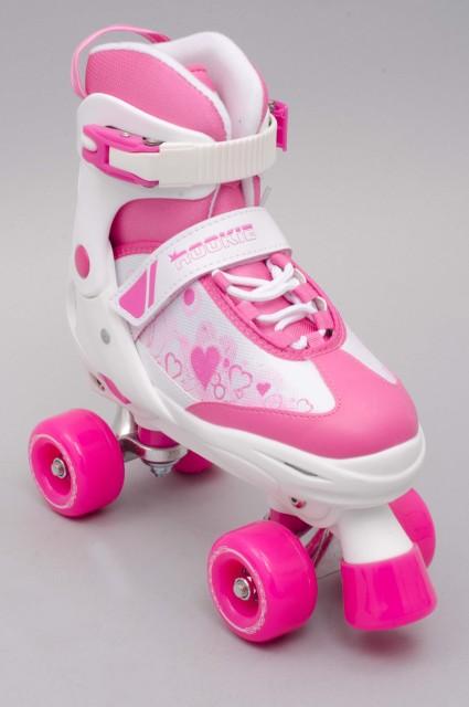 Rollers quad Rookie-Pulse Junior Quad Pink/white-2017