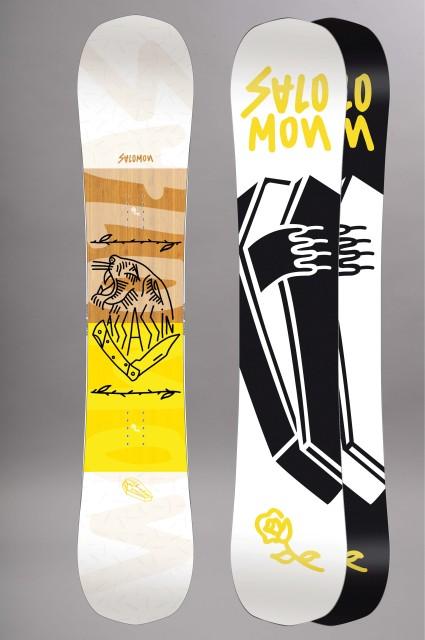 Planche de snowboard homme Salomon-Assassin-FW17/18