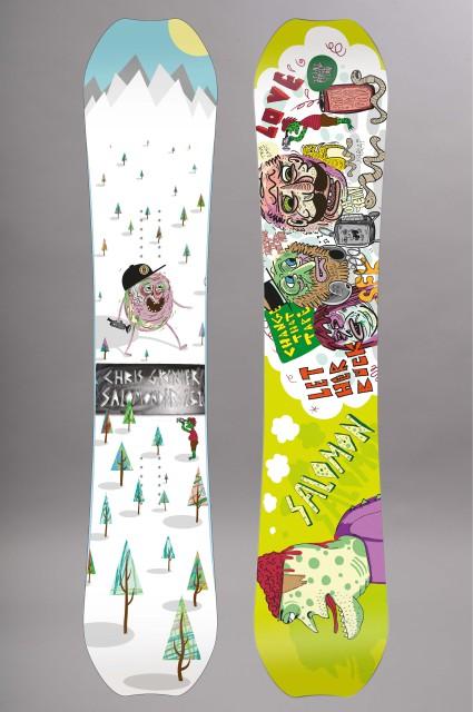 Planche de snowboard homme Salomon-Der-FW15/16