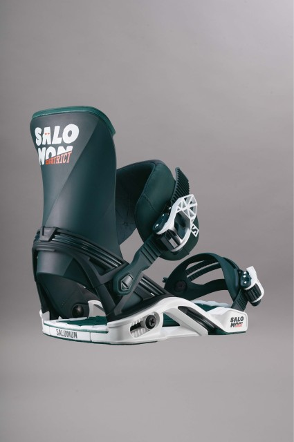Fixation de snowboard homme Salomon-District-FW17/18