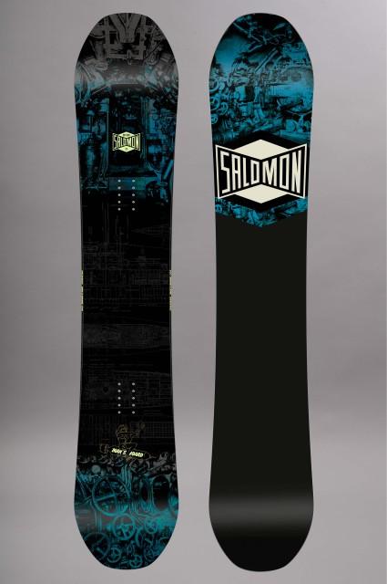 Planche de snowboard homme Salomon-Mans Board-FW17/18