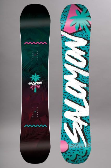Planche de snowboard femme Salomon-Oh Yeah-FW17/18