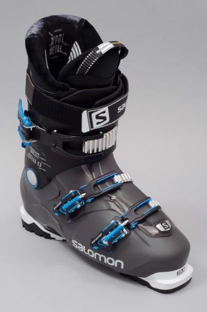 chaussures de ski homme salomon quest access 80 anthracite. Black Bedroom Furniture Sets. Home Design Ideas