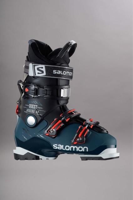 chaussures de ski homme salomon quest access 80 petrol. Black Bedroom Furniture Sets. Home Design Ideas