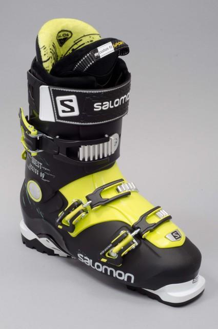chaussures de ski homme salomon quest access 90 black yellow. Black Bedroom Furniture Sets. Home Design Ideas