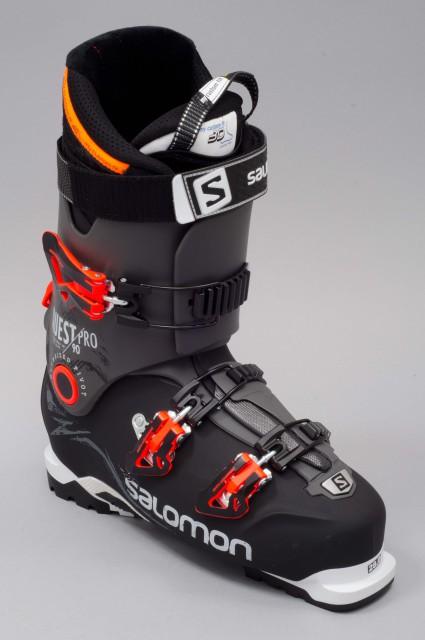 chaussures de ski homme salomon quest pro 90 black anthracite. Black Bedroom Furniture Sets. Home Design Ideas