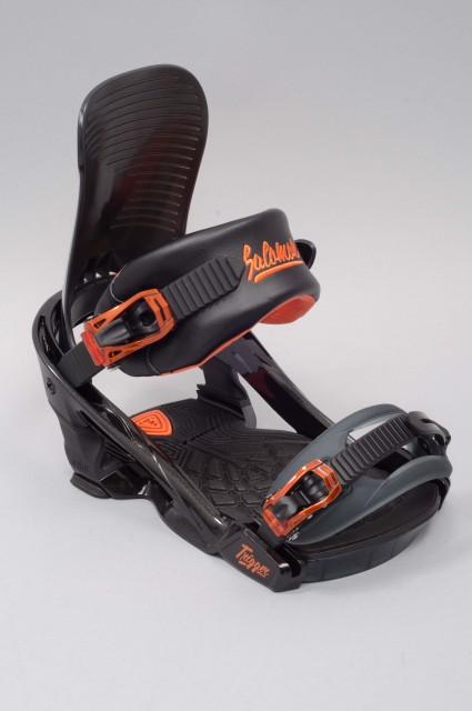 fixation de snowboard homme salomon trigger black orange. Black Bedroom Furniture Sets. Home Design Ideas